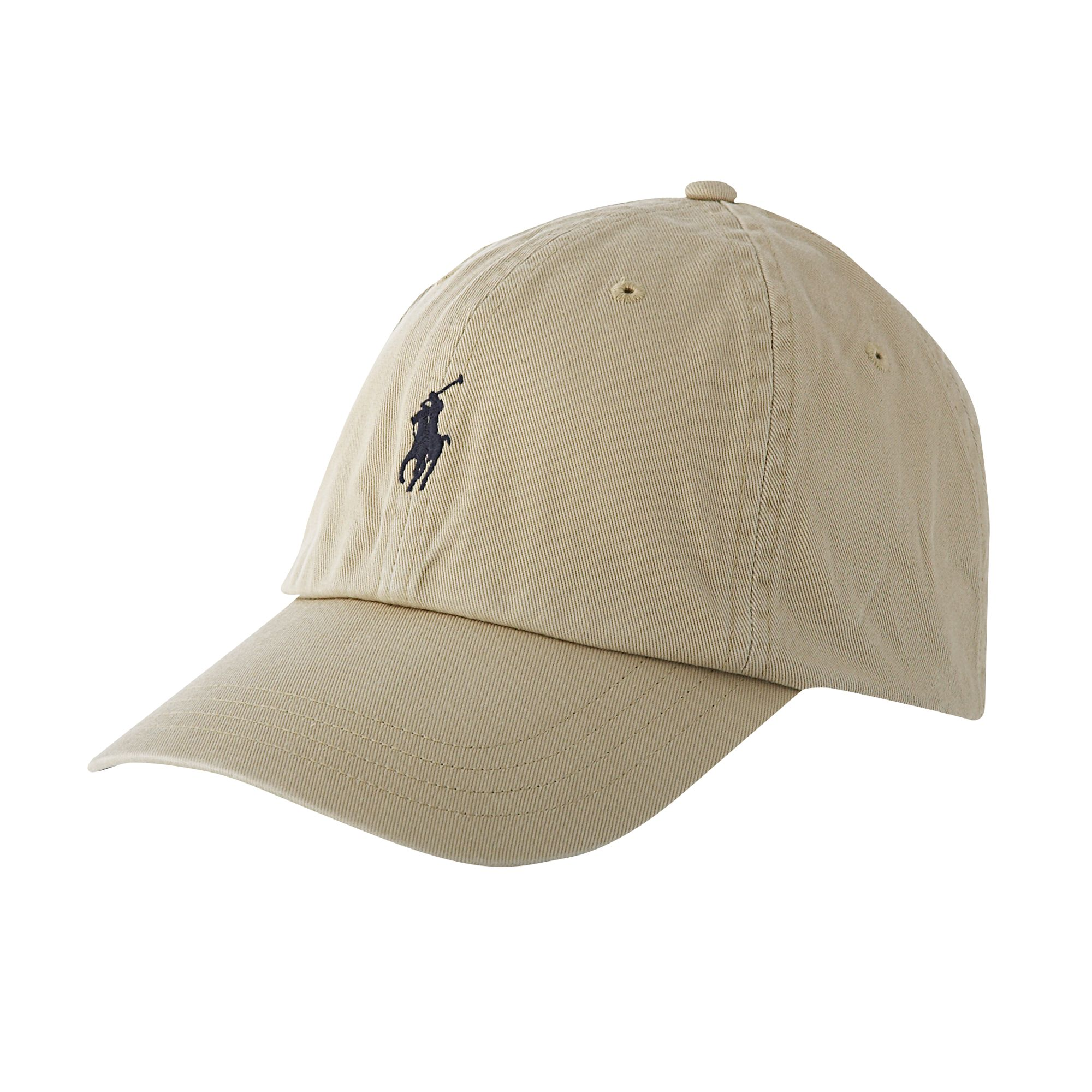 polo ralph lauren logo cap in natural for men lyst. Black Bedroom Furniture Sets. Home Design Ideas
