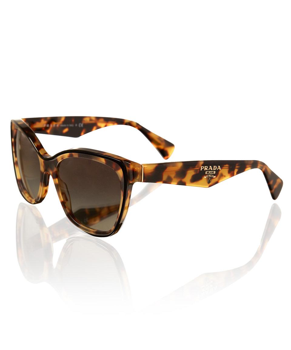 ba2737d730dd 5b290 ac513; australia lyst prada tortoiseshell square cat eye sunglasses  in metallic 2b6fb 3e832