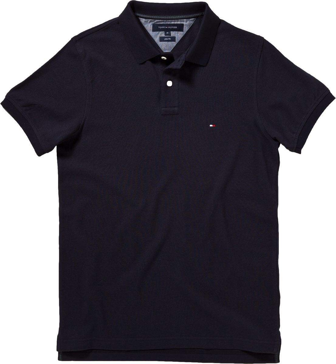tommy hilfiger slim fit washed polo shirt in blue for men lyst. Black Bedroom Furniture Sets. Home Design Ideas