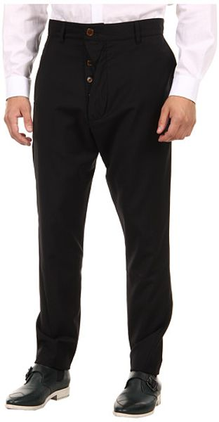 Vivienne Westwood Man Classic Canvas Drop Crotch Trouser - Lyst