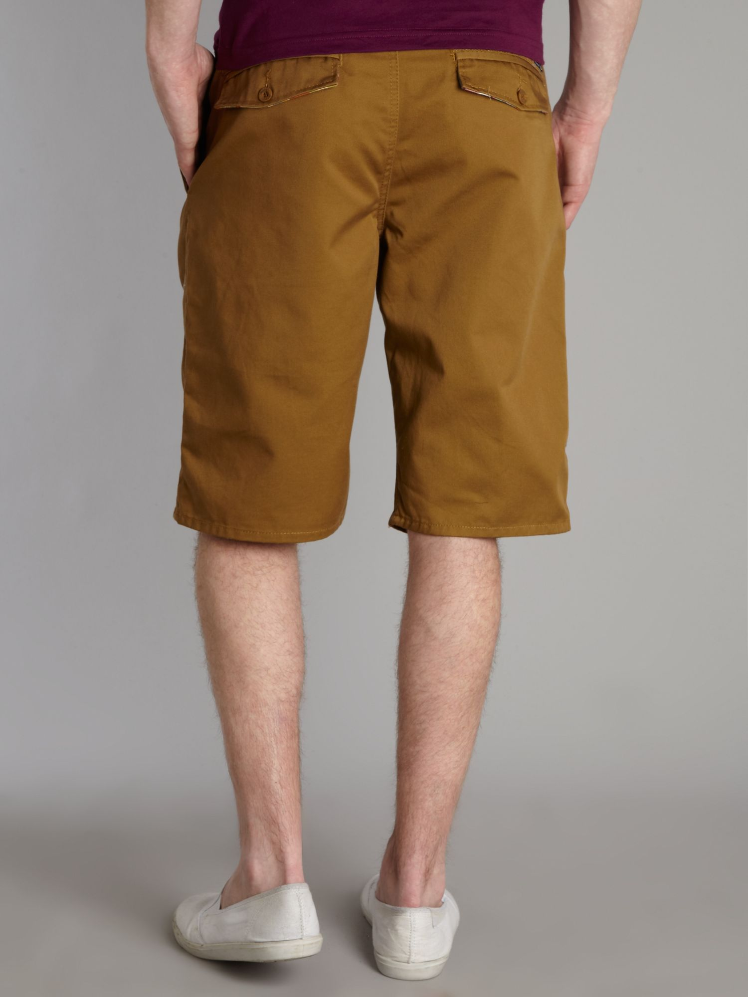 Bench Aintree Chino Shorts in Brown for Men | Lyst