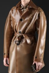 Burberry Translucent Rubber Trench Coat - Lyst