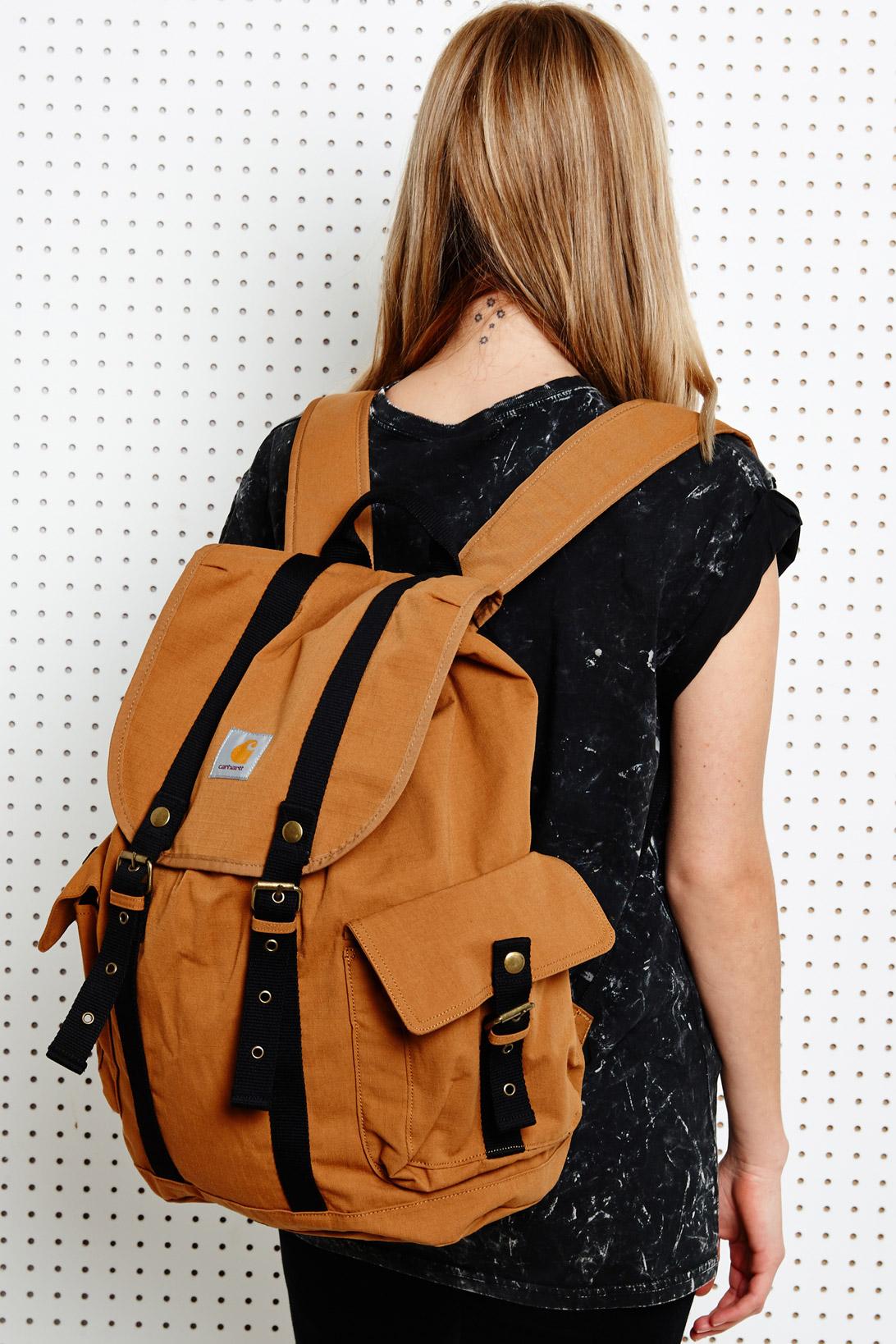 Carhartt Tramp Backpack in Brown in Brown - Lyst