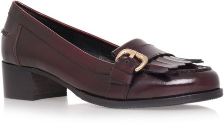 Carvela Lullaby Loafer Shoes in Red - Lyst