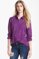 Caslon® Long Sleeve Shirt - Lyst