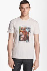 Dolce & Gabbana Graphic Crew-neck T-shirt - Lyst