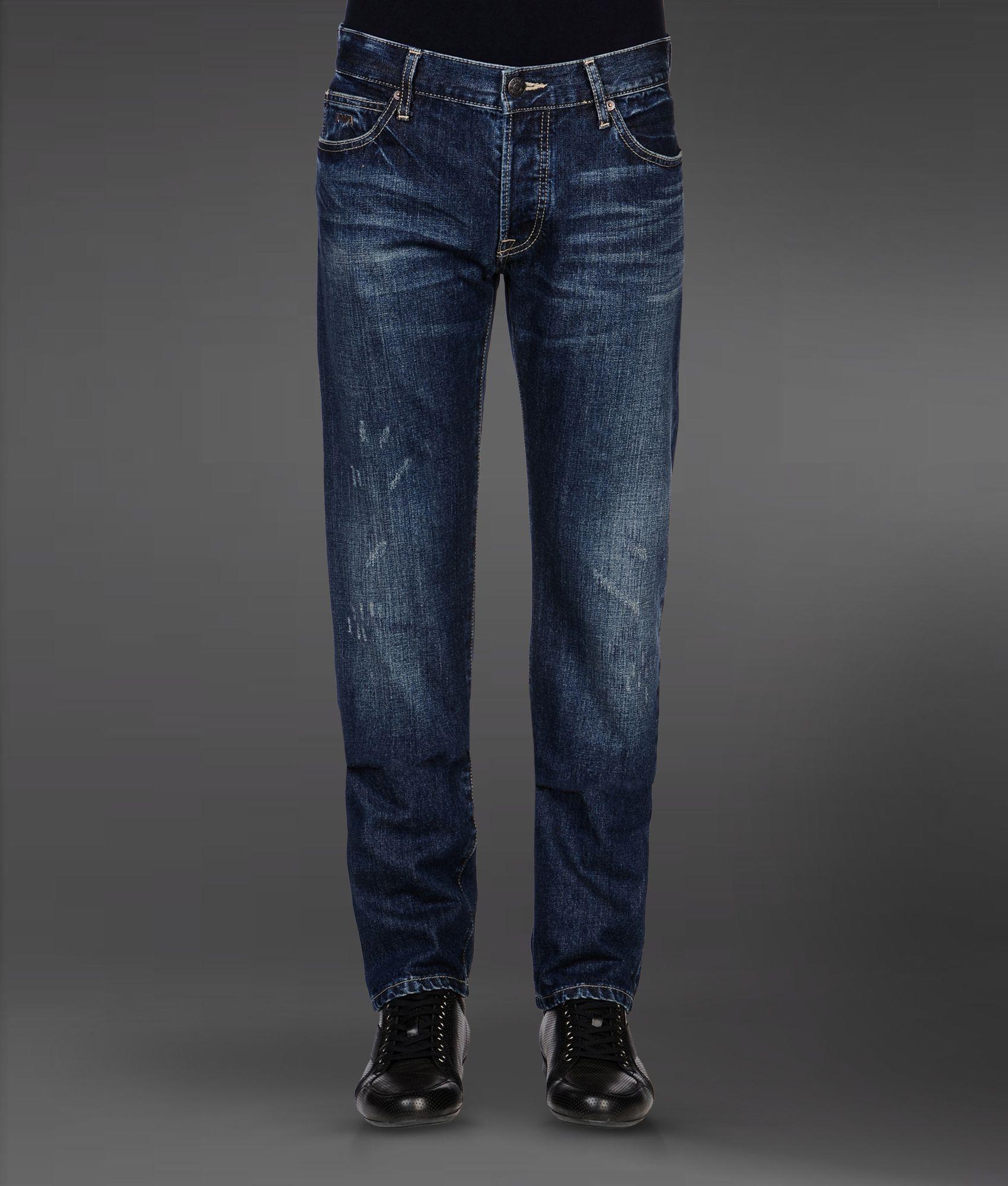 Lyst - Emporio armani Jeans in Blue for Men