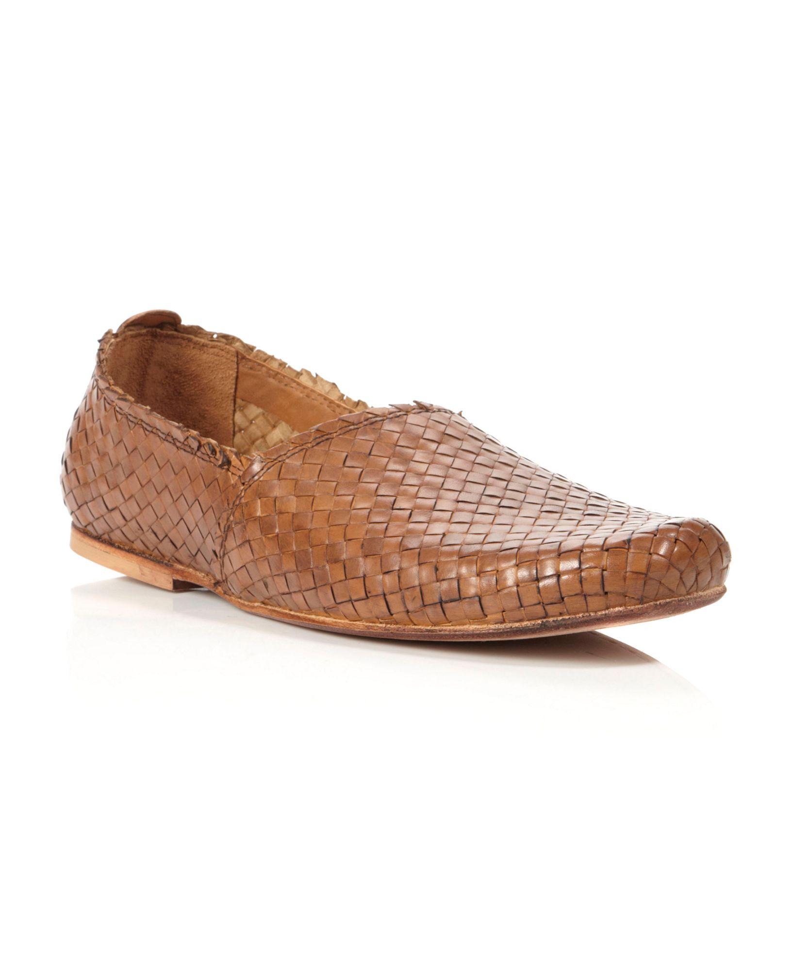 Hudson Jeans Cozumez Woven Slip On Shoes In Brown For Men Lyst