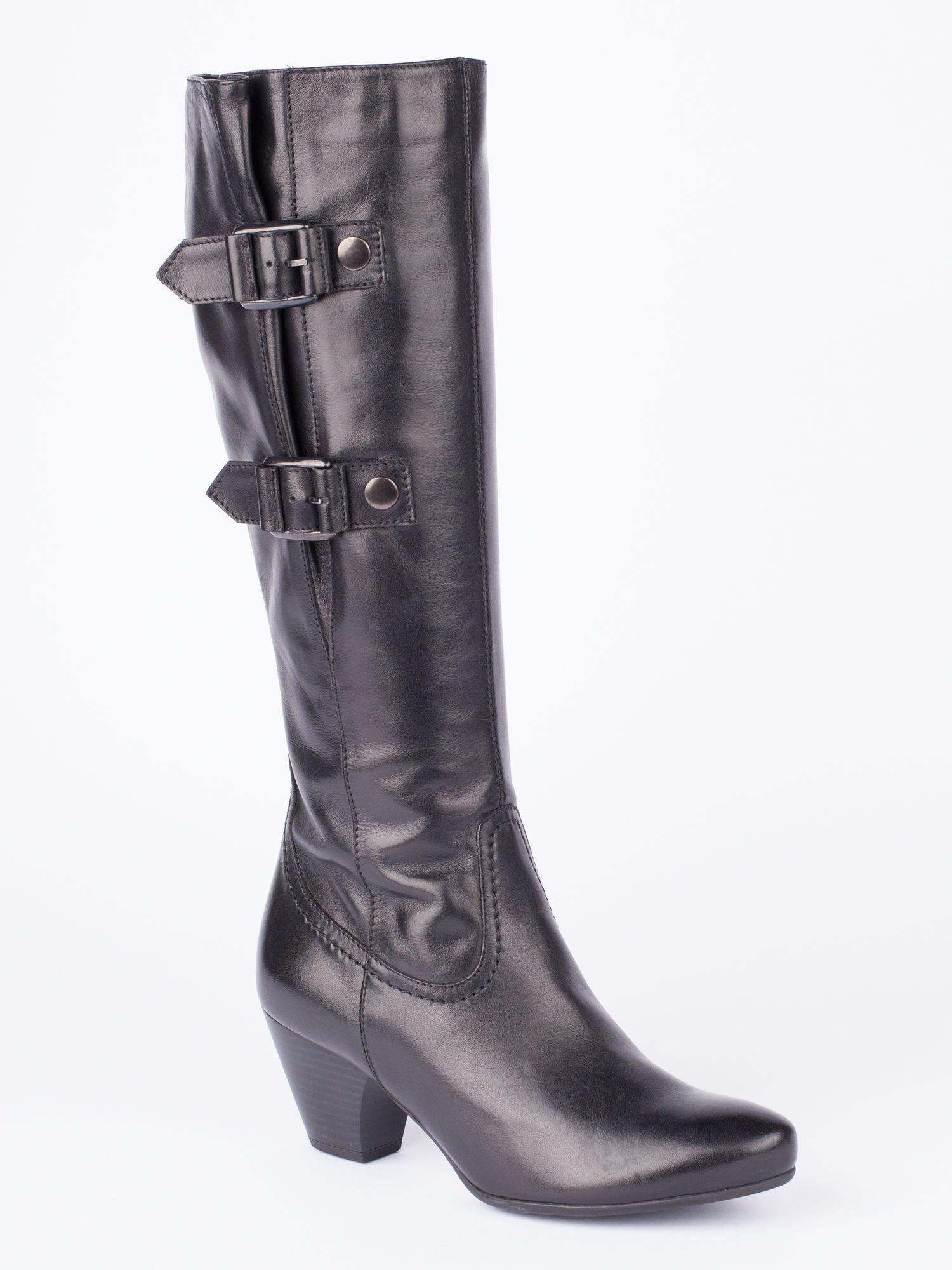 jones bootmaker ridley knee high boot in black lyst
