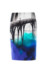 Mary Katrantzou San Francisco print Skirt - Lyst