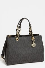 Michael by Michael Kors Cynthia Medium Satchel - Lyst