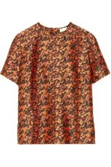 Michael Van Der Ham Silk and Woolblend Jacquard Top - Lyst