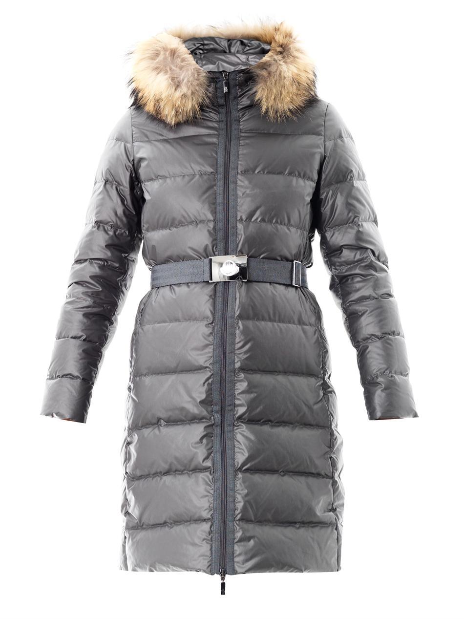 moncler nantesfur coat