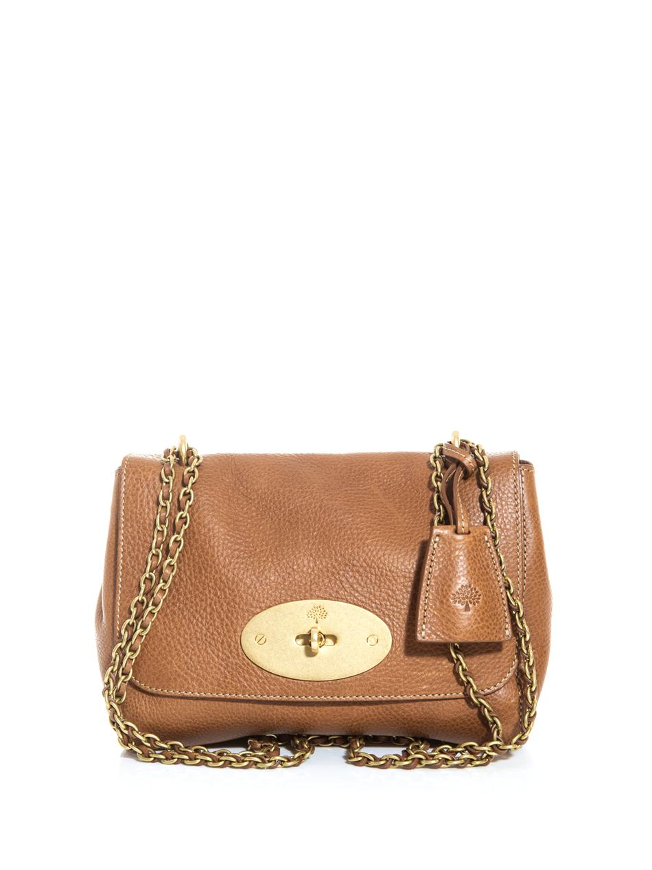 Mulberry Shoulder Bag Tan 100