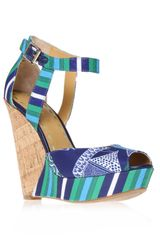 Nine West Kaiyra2 Wedge Sandals - Lyst