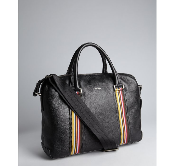Paul Smith Signature stripe laptop bag Discount Fast Delivery Free Shipping Genuine Store For Sale 6efJMo
