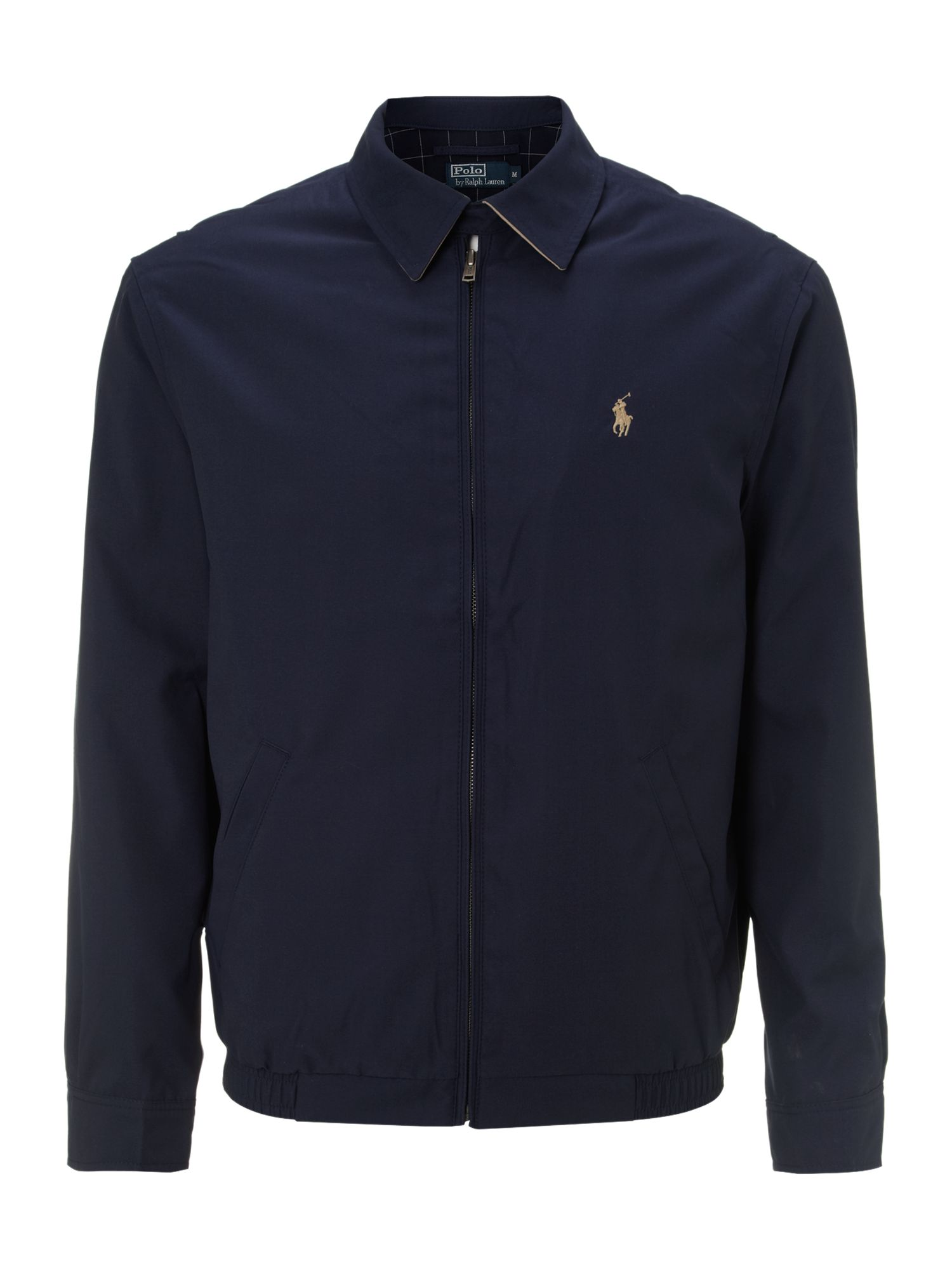 Polo ralph lauren Classic Windbreaker in Blue for Men | Lyst