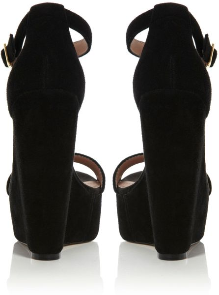 c8bb33443aa Black Strappy Sandals: Steve Madden Xtreme Wedge