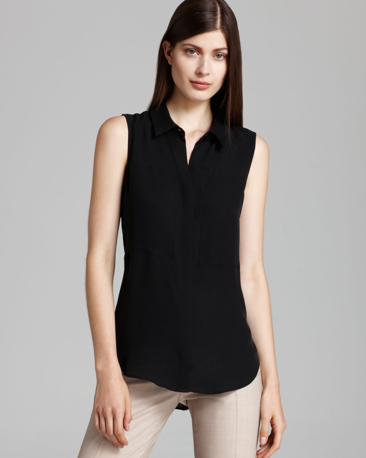 Sleeveless Blouse. A sleeveless blouse for women offer women a unique choice when it comes to dressing for the day or evening. Tops such as these give women a way to add an additional level of dressiness to their entire loadingtag.gale for the office as well as when women are going out for the evening, many women find they reach for these shirts again and again when it comes to dressing.