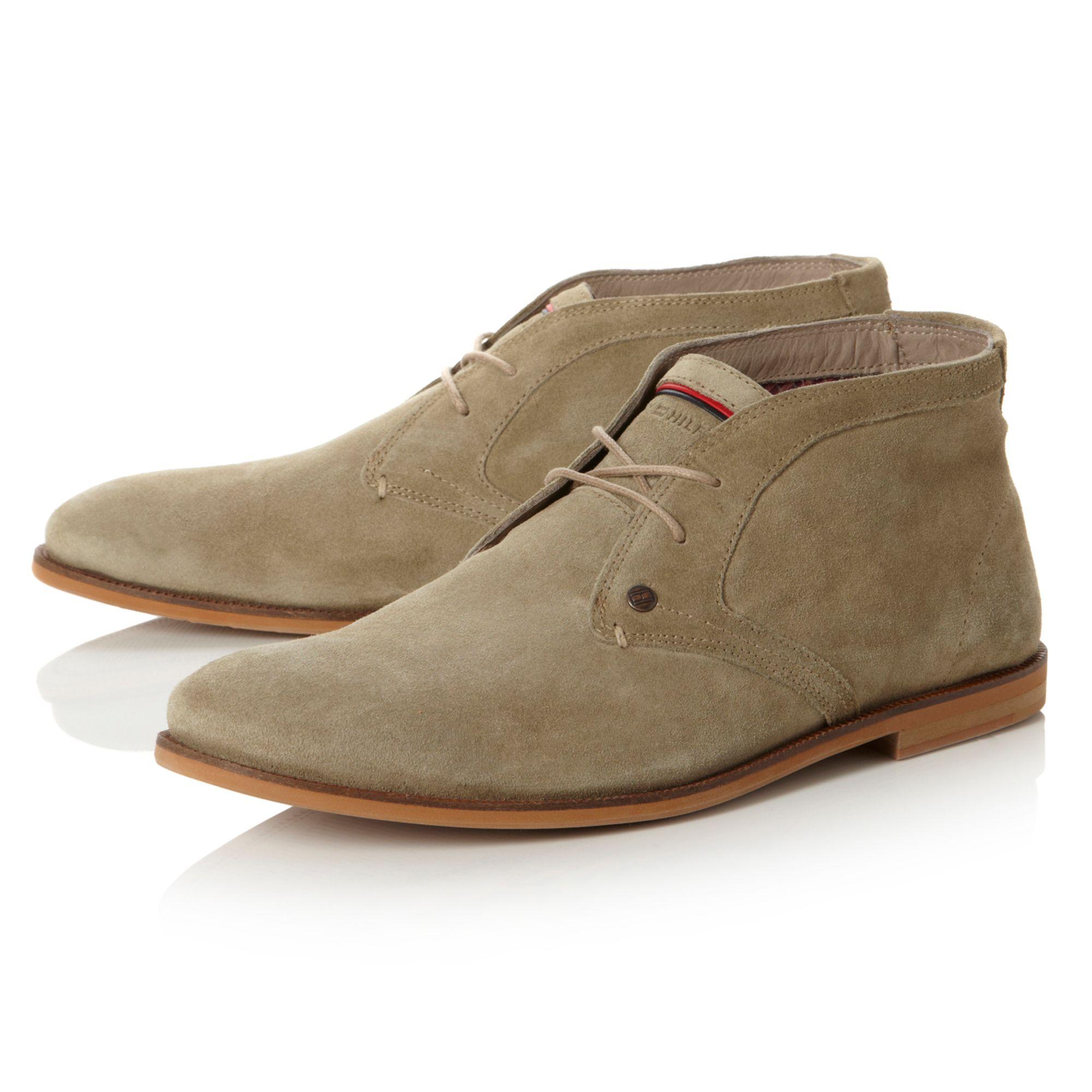 tommy hilfiger adam 4b natural sole desert boots in natural for men. Black Bedroom Furniture Sets. Home Design Ideas