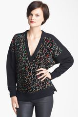 Tracy Reese Cheetah Pattern Knit Tunic - Lyst