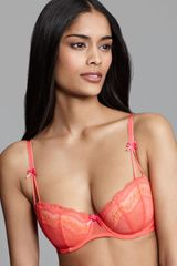 Betsey Johnson Demi Bra Eyelet Lace Foam - Lyst