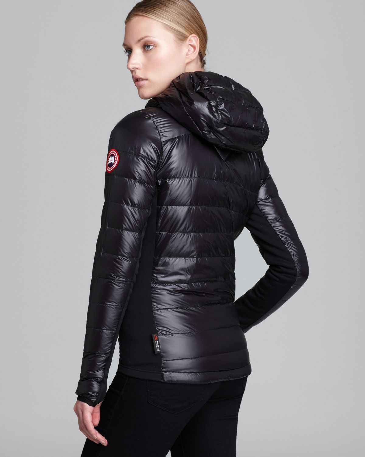 Canada Goose Hybridge Lite Jacket Black For Women
