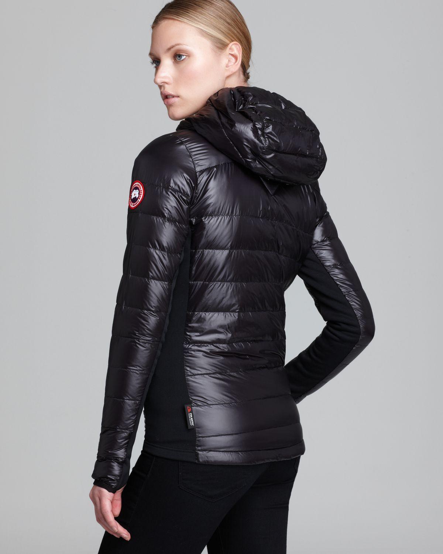 Canada Goose langford parka sale shop - Canada goose Hybridge Light Hooded Jacket in Black | Lyst