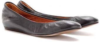 Lanvin Leather Ballerinas - Lyst