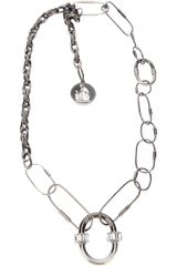 Lanvin Chain Link Necklace - Lyst