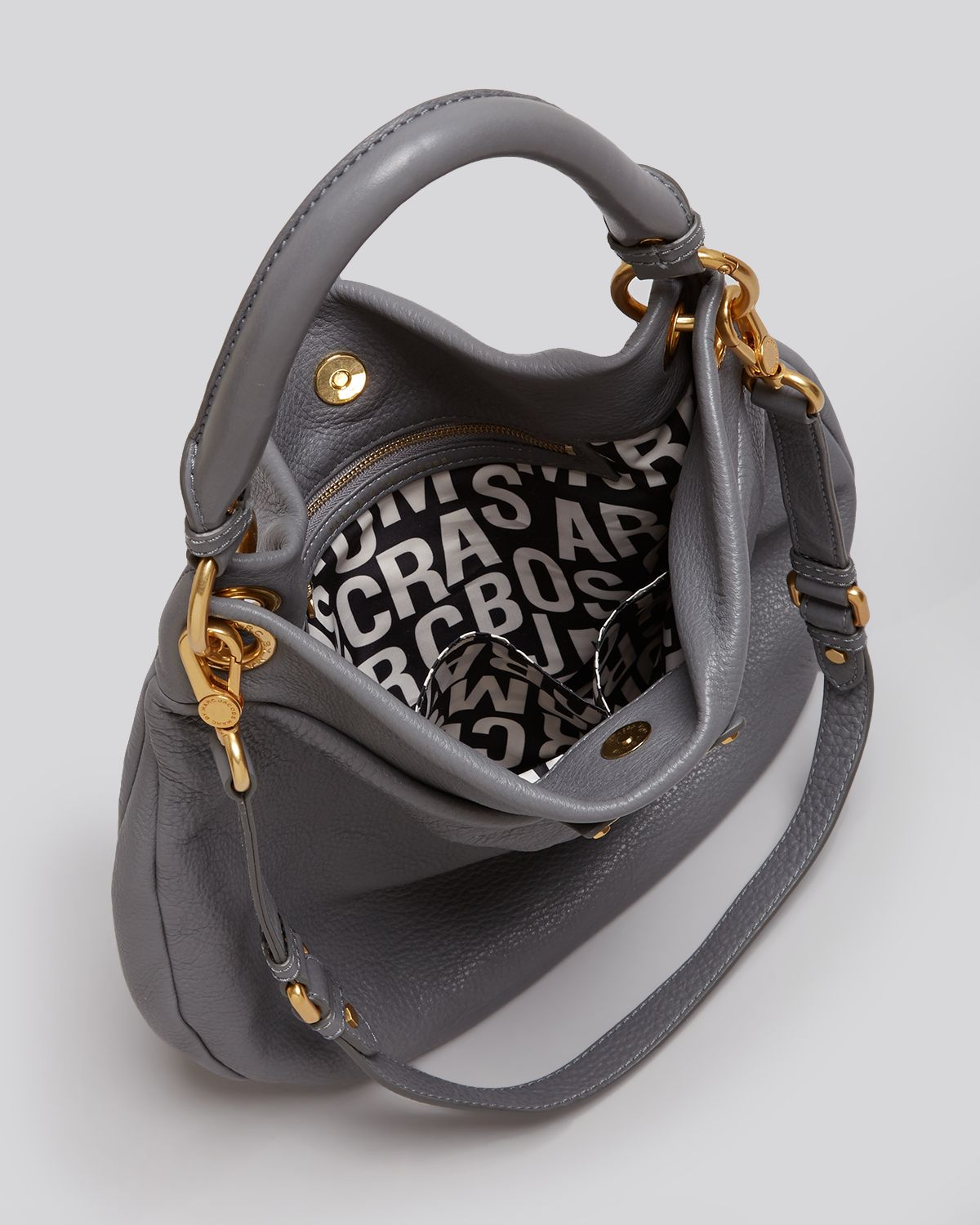96a0b0659c8 Marc By Marc Jacobs Hobo Classic Q Hillier in Gray - Lyst