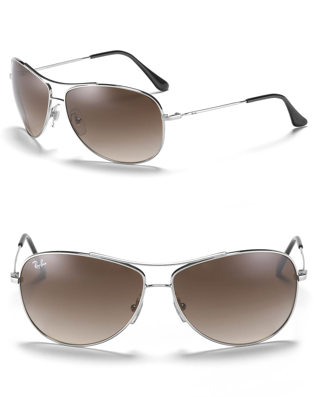 Ray-ban Bubble Wrap Aviator Sunglasses in Metallic