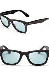 Ray-Ban Polarized Original Wayfarer Sunglasses - Lyst