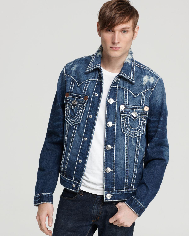 a1816e2d0dd07 True Religion Jimmy Denim Jacket in Blue for Men - Lyst