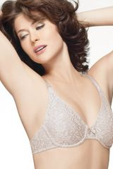 Wacoal Bra Halo Lace Unlined Underwire - Lyst