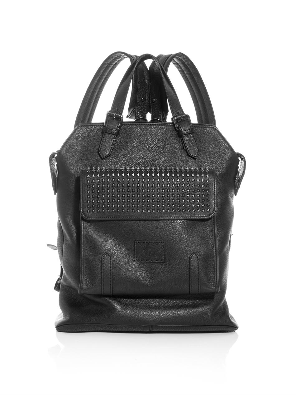 leather backpack with spikes Backpack Tools