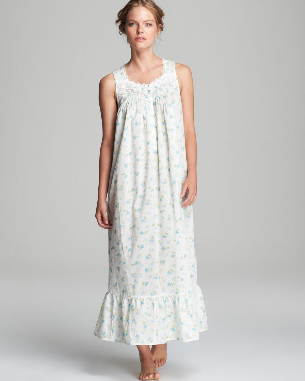 Eileen West Victorian Romance Long Ballet Nightgown - Lyst adb839a47