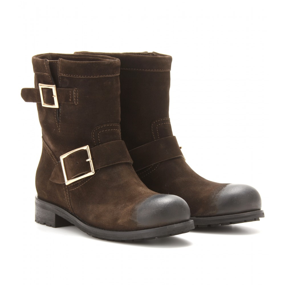 Jimmy choo Boots Youth suede waxed PWkYuDc5