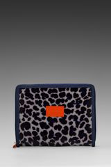 Marc By Marc Jacobs Coated Canvas Tablet Book in Purple - Lyst