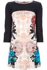Pinko Floral Print Dress - Lyst