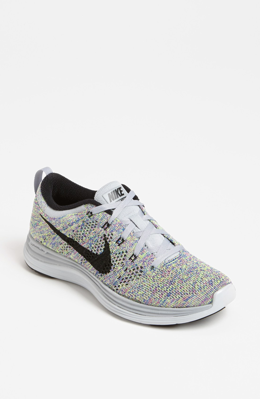 Nike Flyknit Lunar1 Running Shoe in Multicolor (Wolf Grey ...