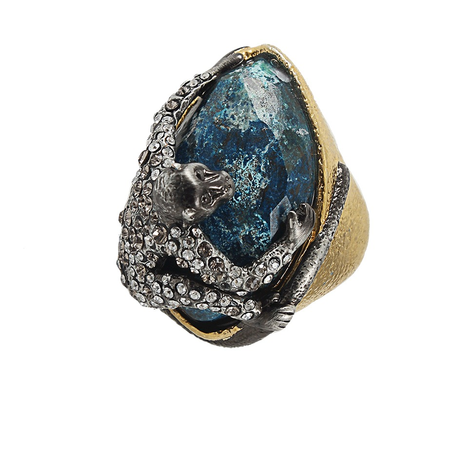 Alexis Bittar Mauritus Gold Spider Monkey Ring In Gold