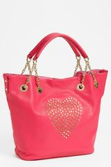 Betsey Johnson Heart Attack Tote - Lyst