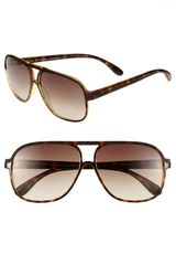Marc By Marc Jacobs 59mm Aviator Sunglasses - Lyst