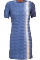Missoni Textured Woolblend Knit Dress - Lyst