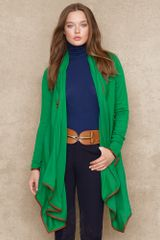 Ralph Lauren Blue Label Leathertrimmed Wrap - Lyst