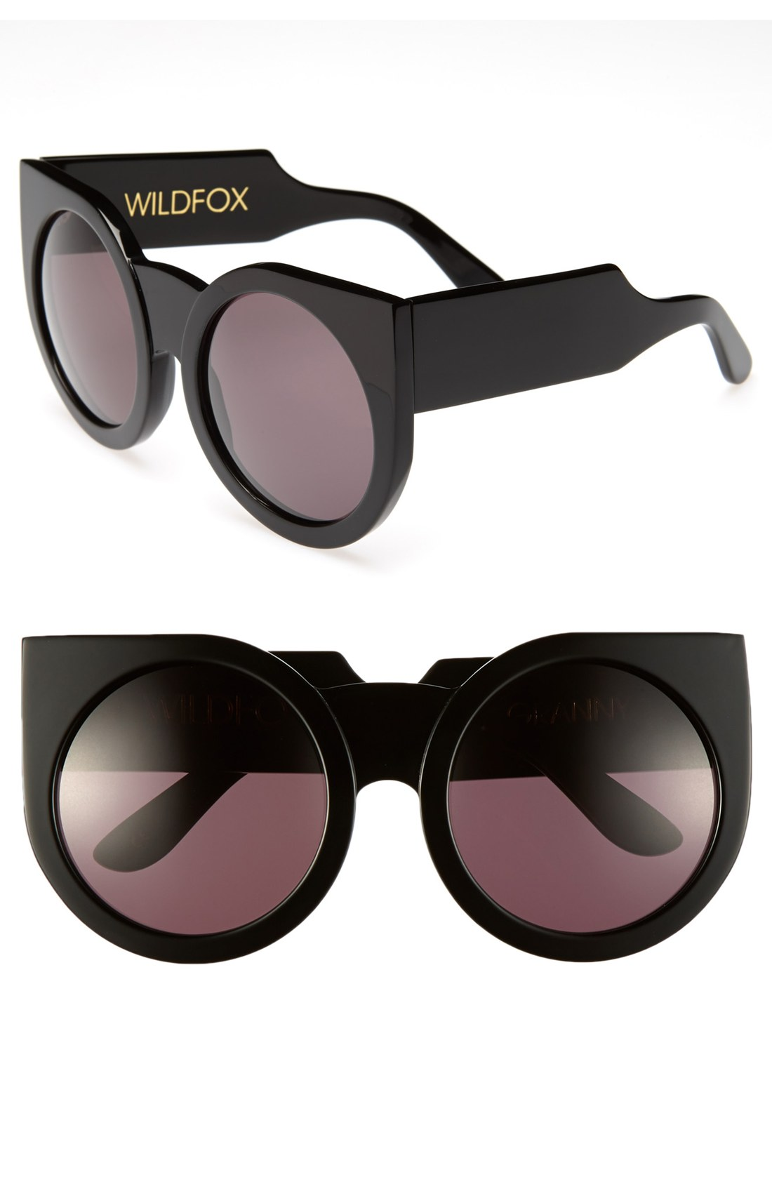 Granny Sunglasses  wildfox granny sunglasses in black lyst