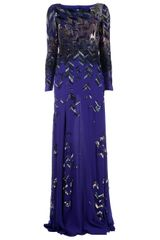 Matthew Williamson Bead Embellished Gown - Lyst