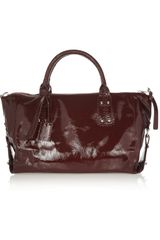 McQ by Alexander McQueen Strafford Patentleather Shoulder Bag - Lyst