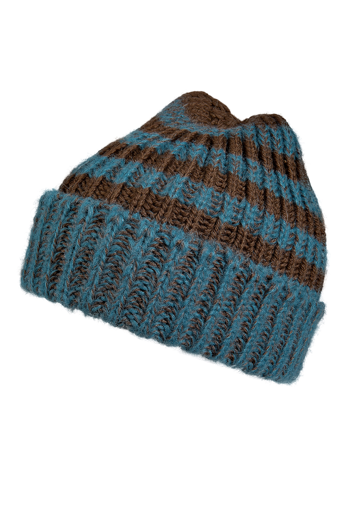 245bdc63484cc Lyst - Paul Smith Merinoalpaca Wool Striped Dexy Hat in Blue for Men